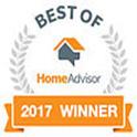 Home Advisor Best of 2017 Winner